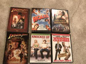 6 DVD's for Sale in Fairfax, VA