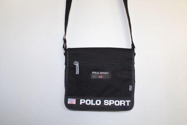 Vintage 90s Polo Sport Ralph Lauren Black Messenger Bag for Sale in  Westminster 5c2181c433e10