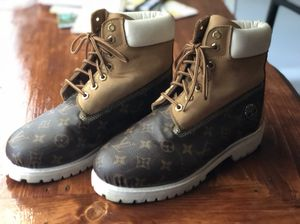 0cb55d7b66fa Authentic Louis Vuitton Timberland Boots for Sale in Fayetteville