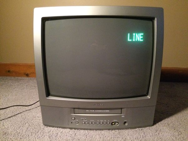 Toshiba Tv  Vcr Combo 19 U0026quot  Color Tv For Sale In Chicago  Il