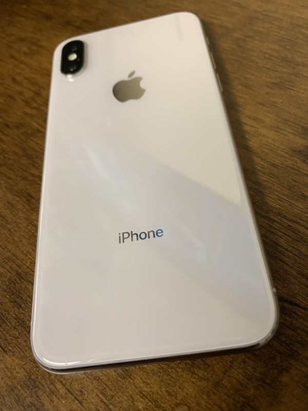 White Apple iPhone X 64GB 4G LTE T-Mobile, Cricket, Metro PCS, Has Warranty  for Sale in Houston, TX - OfferUp