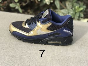 07 Nike Air Max 90 Custom shoes sz 7 for Sale in Ontario, CA