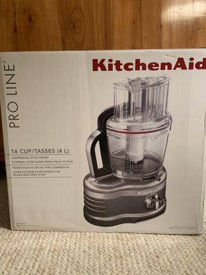 New Proline KitchenAid Food Processor! Originally $600 for Sale in Boston, MA