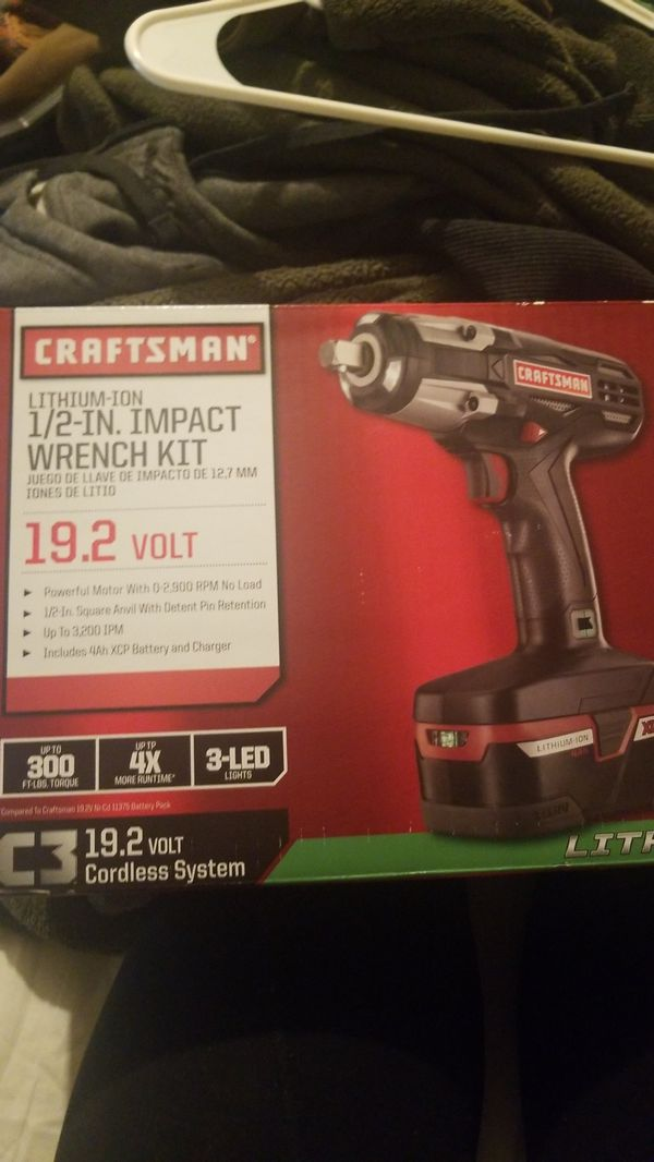 Craftsman 1 2 Inch Impact Wrench Kit
