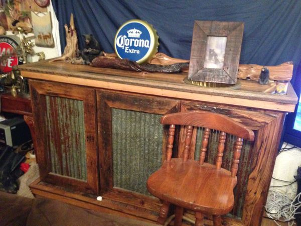 Barn Wood Vintage Wet Bar Breakfast Furniture In Springdale Ar Offerup