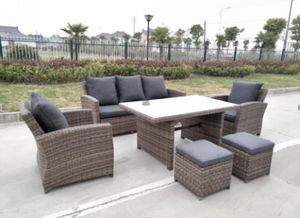 End of season sale!!!6pc sectional wicker outdoor furniture for Sale in Windsor Mill, MD