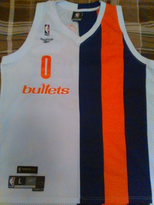 Washington Bullets Throwback Jersey Gilbert Arenas 1972-1973 for Sale in Alexandria, VA