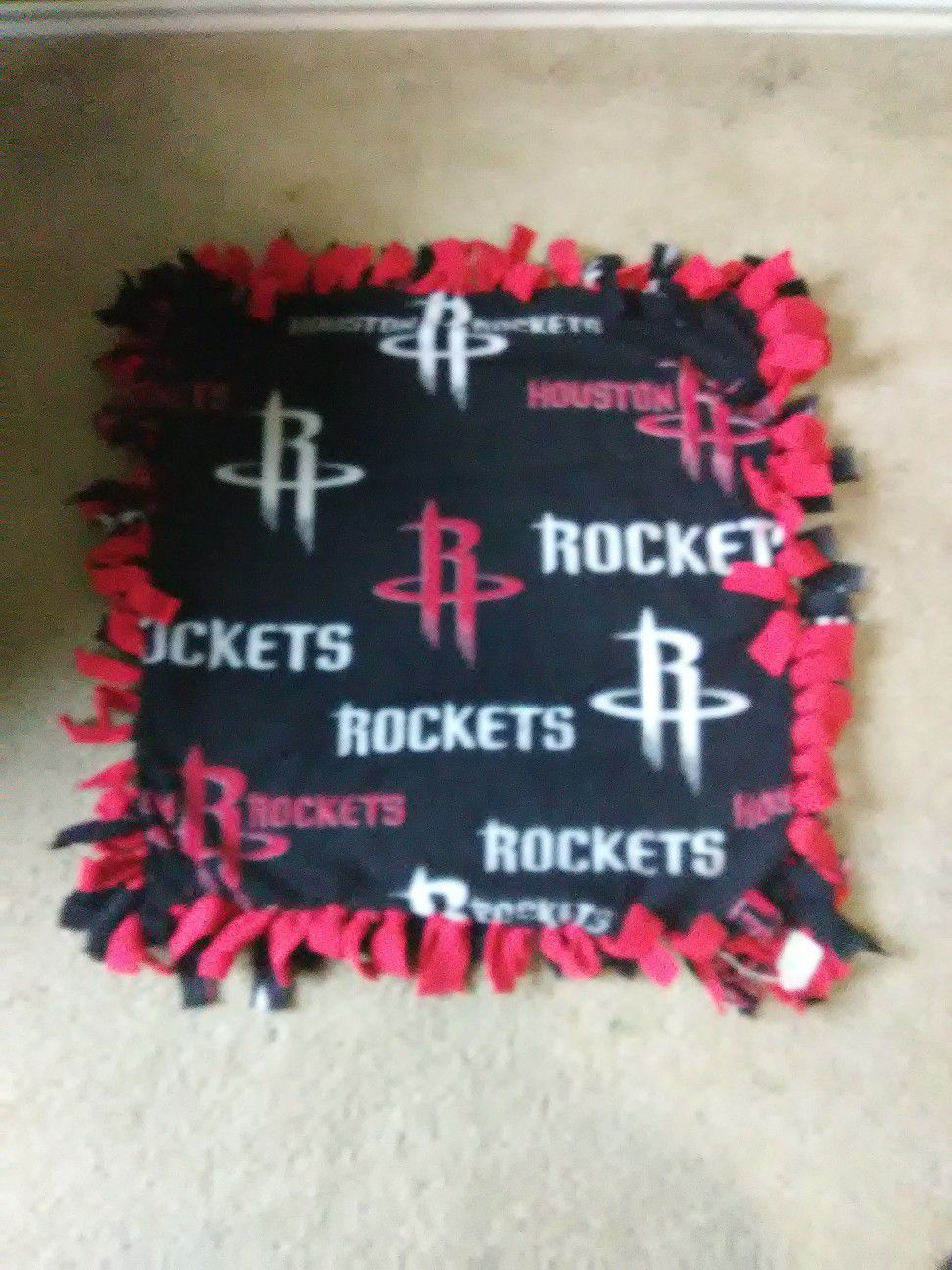 Houston Rockets Dog Blanket