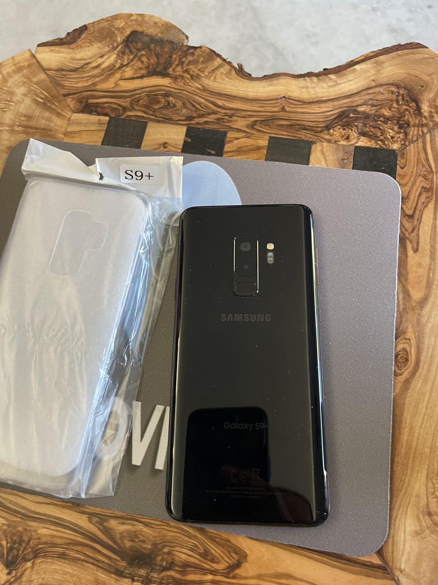 Samsung Galaxy S9 Plus 64GB Black Unlocked For Any Simcard