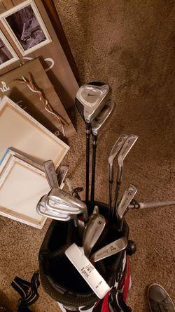 Golf Clubs and Bag Thumbnail