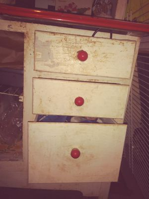 Antique Hoosier cabinet.. new price 300 for Sale in Birmingham, AL