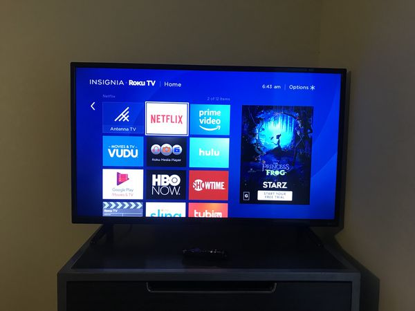 "32"" Roku Smart TV w/Netflix, Hulu, HBO, Showtime for Sale in Hyattsville,  MD - OfferUp"