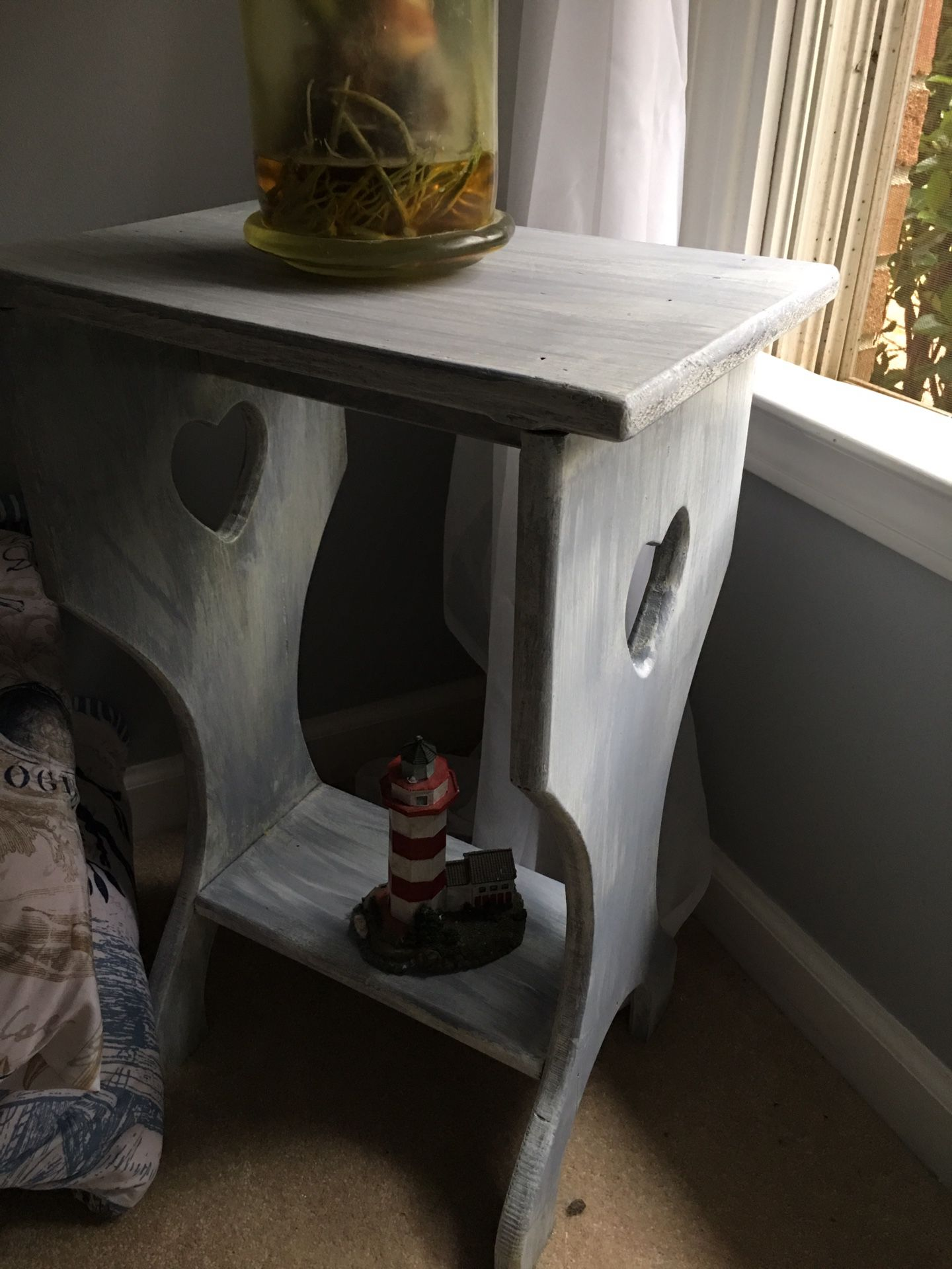 Shabby chic wood table