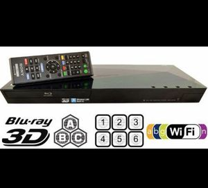 Sony Blu-Ray DVD CD 3D Netflix Smart TV Video Player for Sale in Trenton, NJ