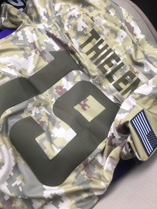 new concept a2d3f e4672 Adam Thielen Salute to Service Vikings Jersey for Sale in Chaska, MN -  OfferUp