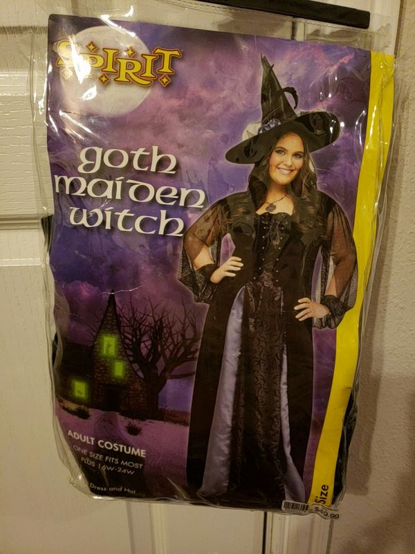 d03297092 Gothic Maiden Witch Costume plus size 18-20 for Sale in Crowley, TX ...