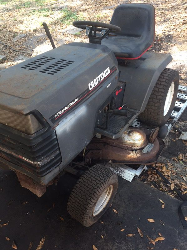 Craftsman Gt6000 Garden Tractor For Sale In Orlando Fl