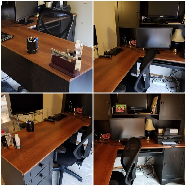 Office desk and hutch for Sale in Columbus, OH - OfferUp