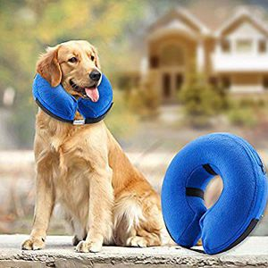 Bencmate Protective Inflatable Collar Dogs Cats - Soft Pet Recovery Collar Does Not Block Vision E-Collar for Sale in Riverside, CA