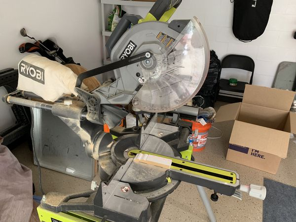Prime Miter Trim Saw And Table Ryobi For Sale In Tampa Fl Offerup Download Free Architecture Designs Scobabritishbridgeorg