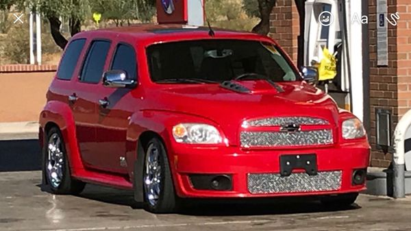 2008 Chevy Hhr Ss Custom Lowered And Stereo Blue Book Is 7760