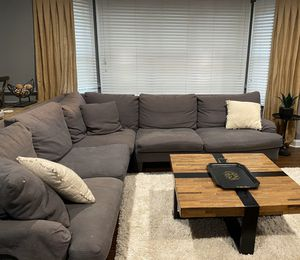 Photo Crate and Barrel couch for sale