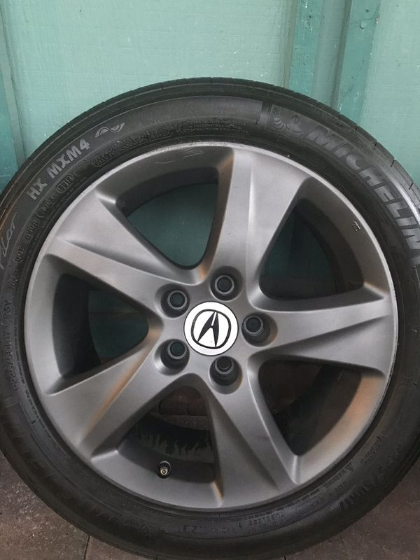 Acura Tsx Rims And Tires 17 For Sale In Elk Grove Ca