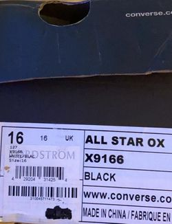 Chuck Taylor ALL STAR Size 16 Thumbnail