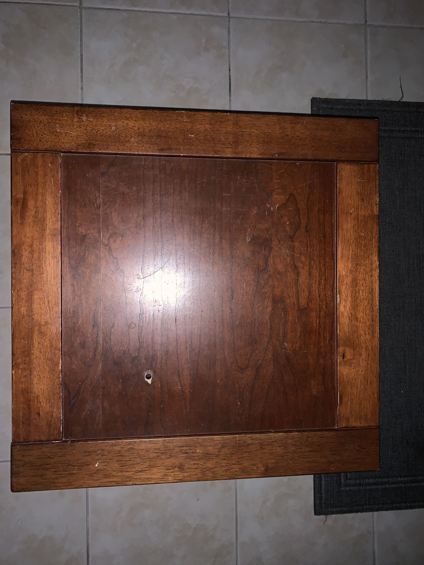 Wood Side Tables (set Of 2)
