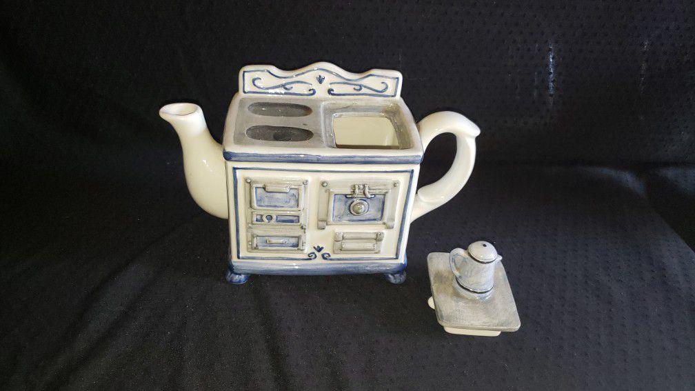 Teapot Stove Shaped