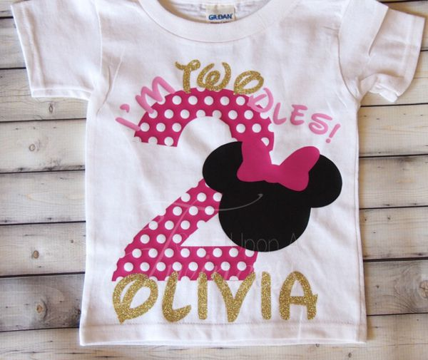 Minnie Mouse Birthday Shirts