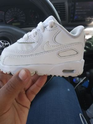 Baby all white nike for Sale in Victorville, CA