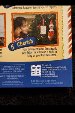 NEW Elf shelf letters to santa Thumbnail