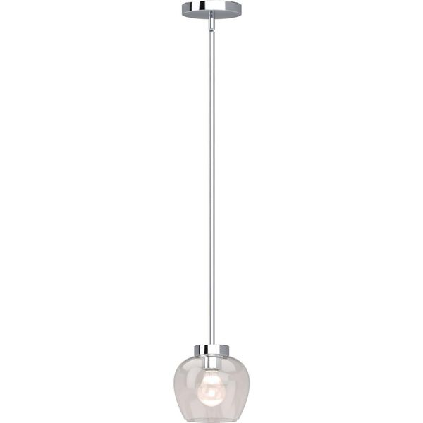 Volume Lighting Aria 1 Light Polished Nickel Indoor Mini