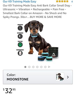 Anti bark collar for small pets for Sale in Kissimmee, FL