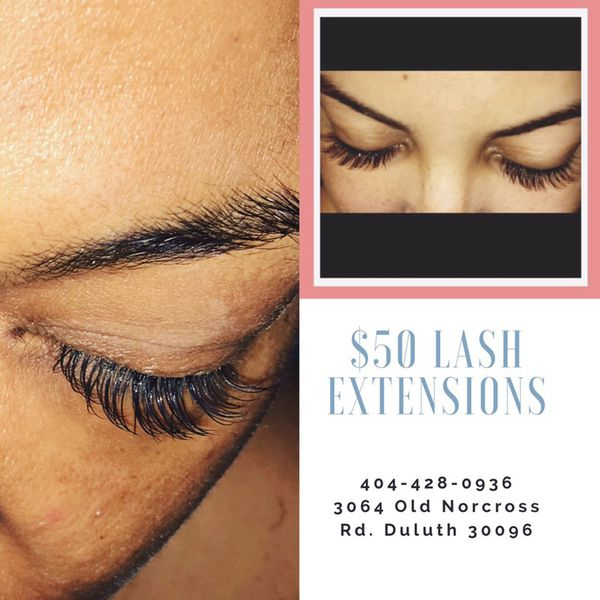 50 Full Set Eyelash Extensions For Sale In Duluth Ga Offerup