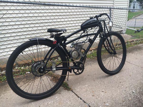 1907 Harley Davidson Replica Motorized Bike