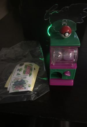 Pokémon collectible mini vending machine capsule toy item for Sale in Walnut, CA