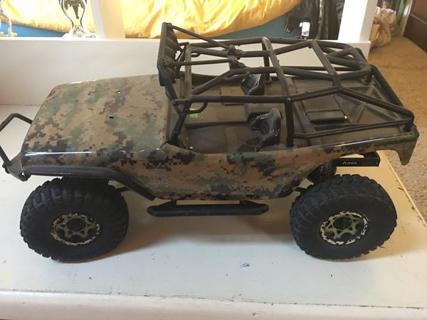 Axial scx10 kit fully built ready to run for Sale in Evergreen, CO - OfferUp