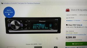 Pioneer DEH 80 PRS for Sale in Columbus, OH