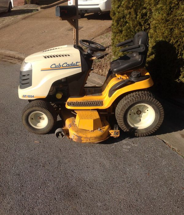Cub Cadet Gt 1554 For Sale In Nashville Tn Offerup