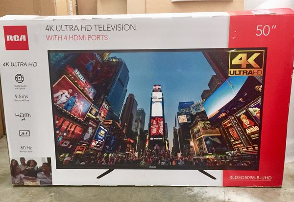 "05e300b2b9d NEW RCA 50"" Class 4K 2160p LED TV RLDED5098-UHD for Sale in ..."