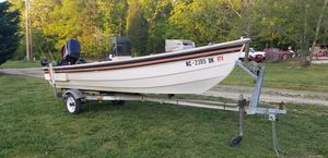 Photo Mitchell 16 ft center console boat