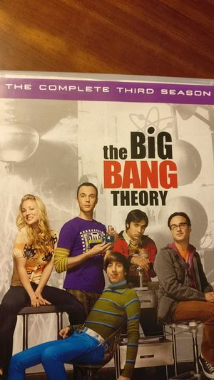 The Big Bang Theory (DVD) Complete Third Season 3-disk box set for Sale in Alexandria, VA