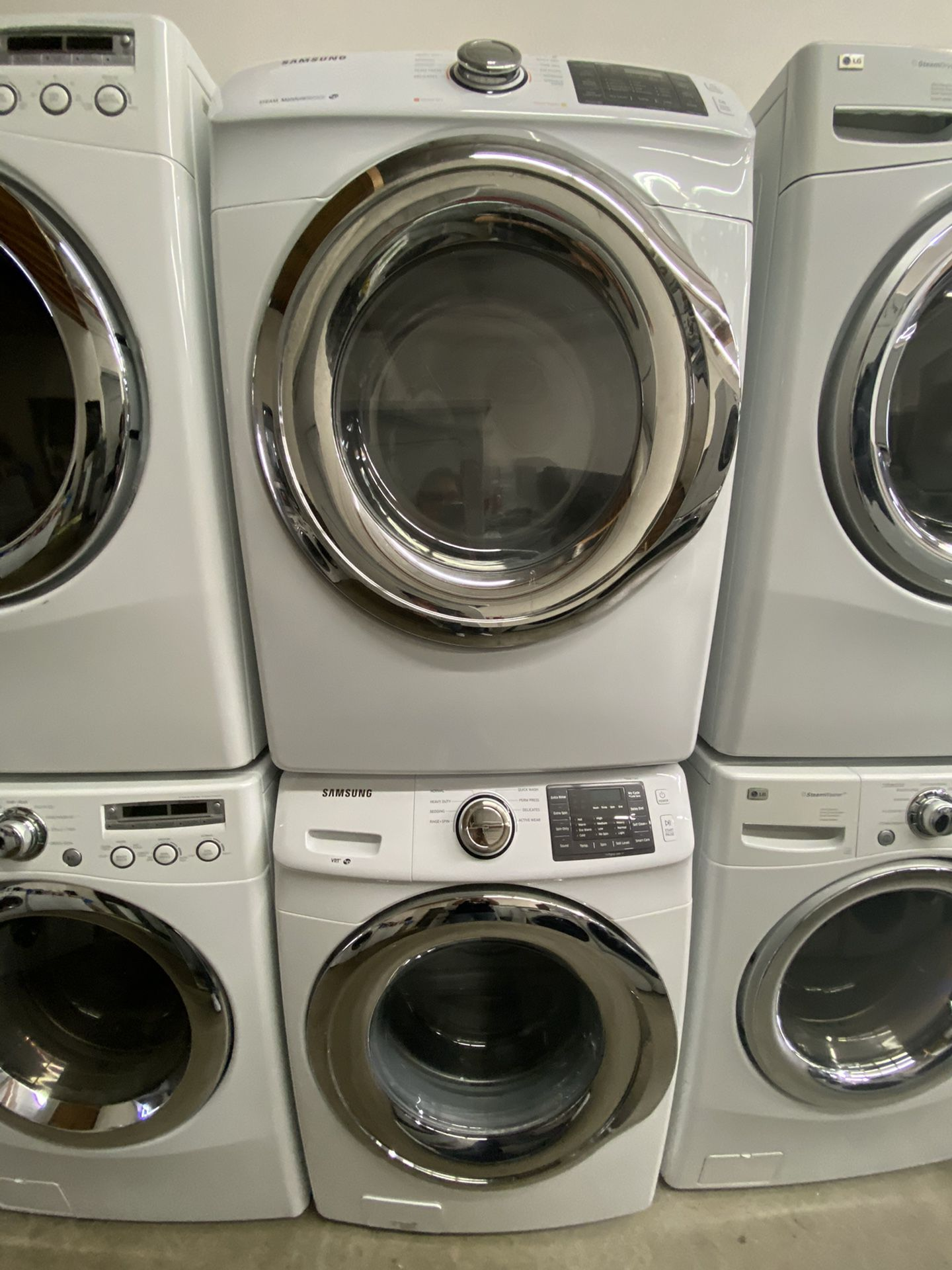 Samsung Front Load Washer And Gas Dryer Set