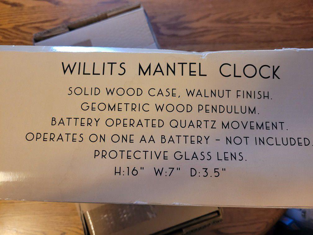 Collectible Floyd Lloyd Wright Mantel Clock