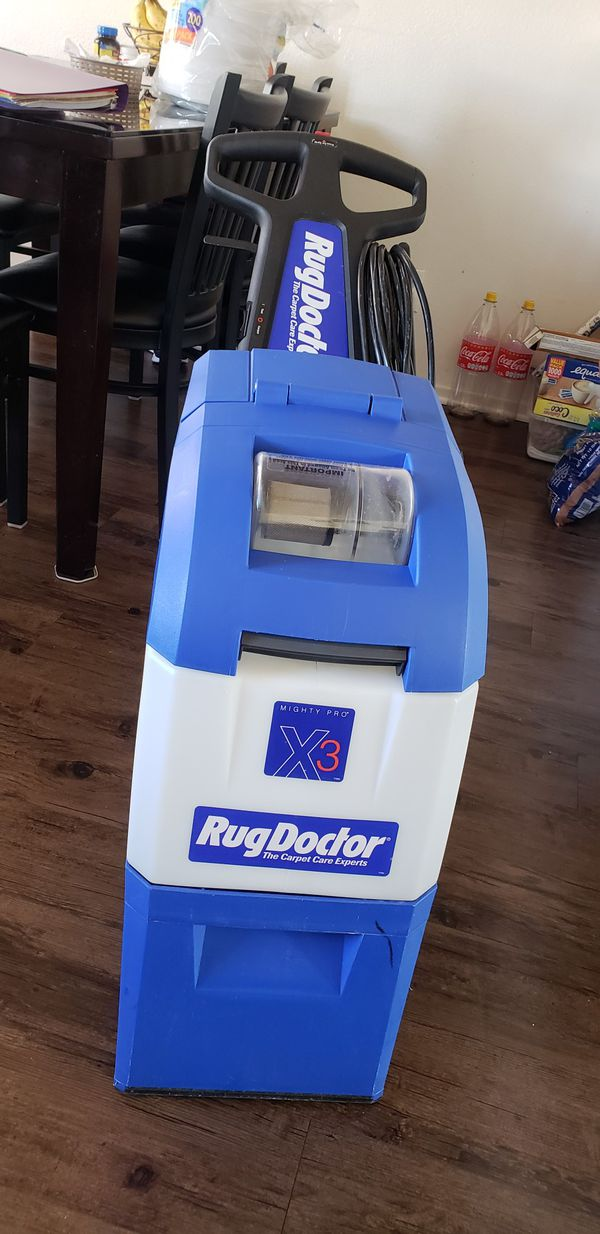 RUGDOCTOR Carpet cleaning machine. Torrance, CA