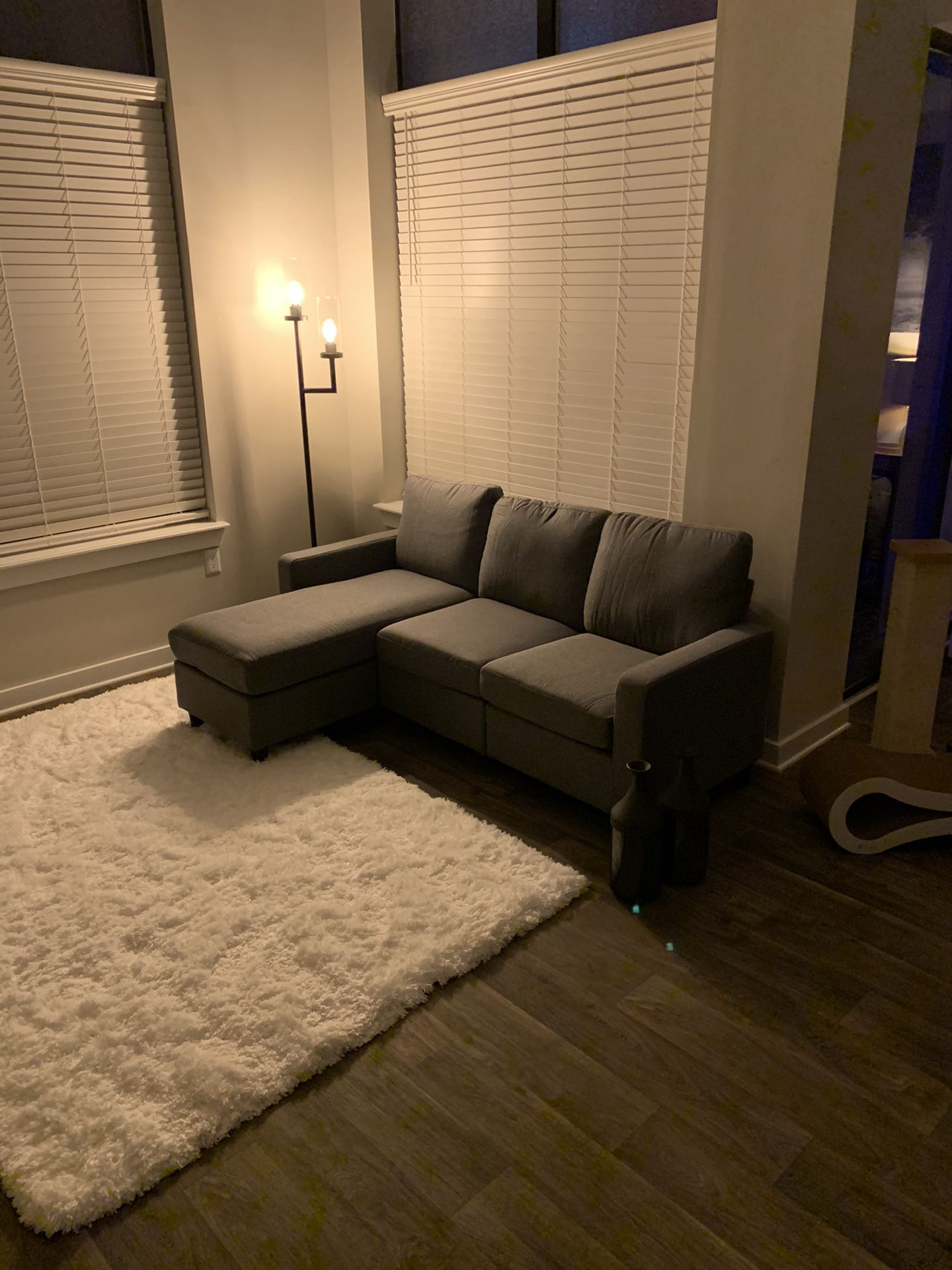 Gray Sectional 78''