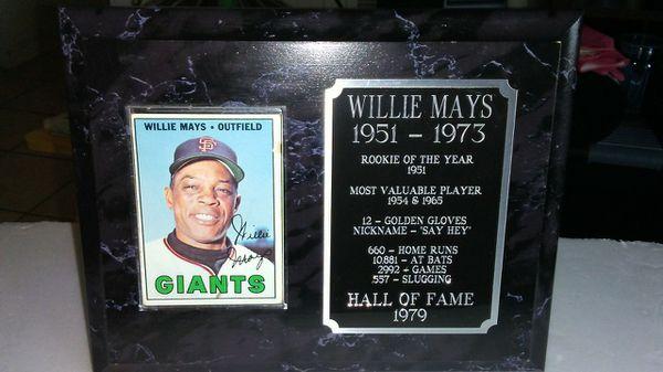 willie mays nickname