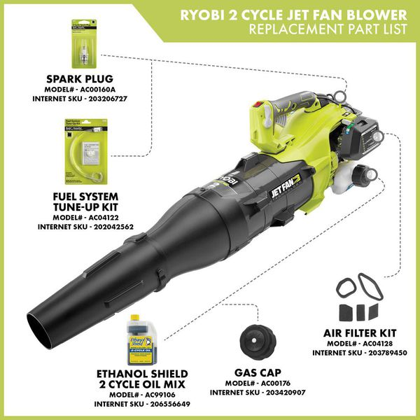 Ryobi 2 Cycle Jet Fan Blower For Sale In Charlotte Nc